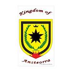 Ansteorra Rectangle Sticker 50 pk)