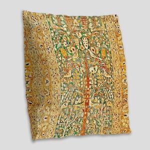 Persian Khorassan Burlap Throw Pillow