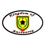 Ansteorra Oval Sticker (50 pk)