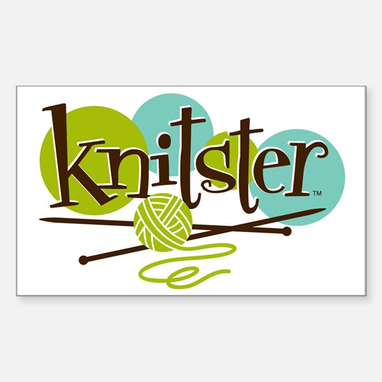 Knitster Sticker (Rectangle)
