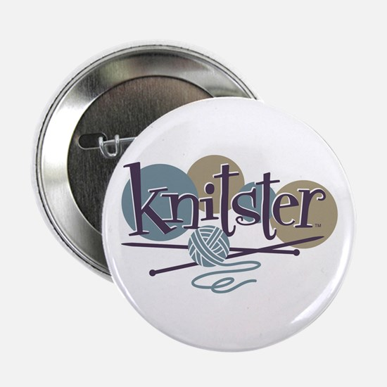 "Knitster 2.25"" Button"