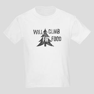 Will climb fir food Kids Light T-Shirt