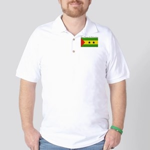 Sao Tome & Principe Golf Shirt