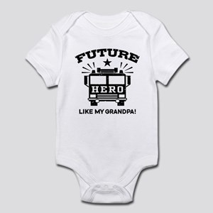 Future Hero Like My Grandpa Infant Bodysuit