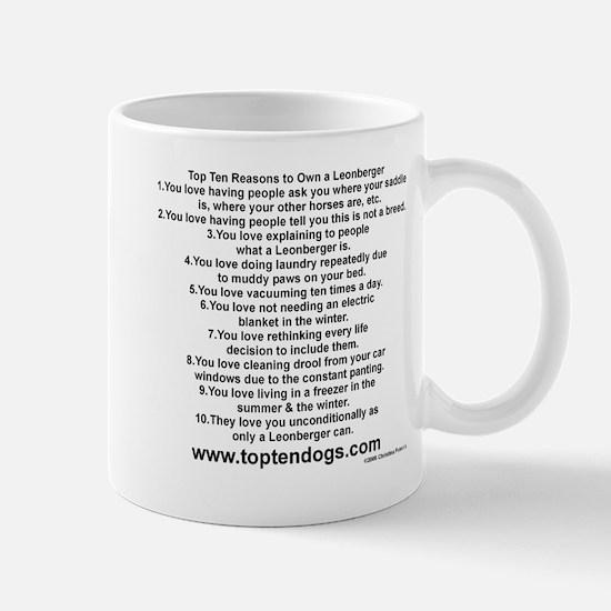 newtoptenLeonberger Mugs