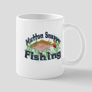 Mutton Snapper Fishing Mug