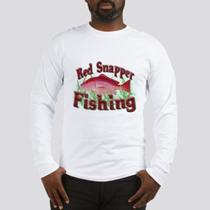 Red Snapper Fishing Long Sleeve T-Shirt