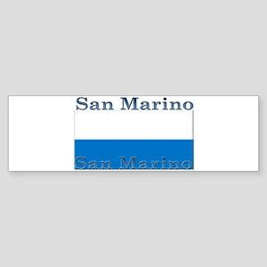San Marino Bumper Sticker