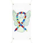 Puzzle Awareness Ribbon Angel Banner