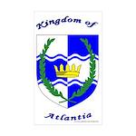 Atlantia Rectangle Sticker 50 pk)