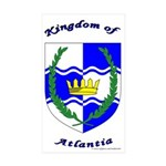 Atlantia Rectangle Sticker 10 pk)
