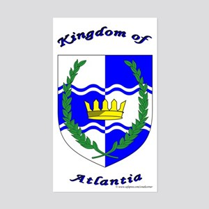 Atlantia Rectangle Sticker