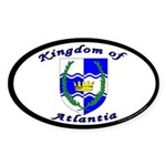 Atlantia Oval Sticker (50 pk)