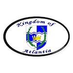 Atlantia Oval Sticker (50 pk)