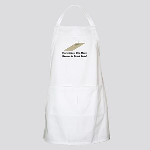 Horseshoes and Beer BBQ Apron