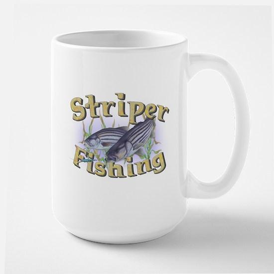Striper Fishing Large Mug