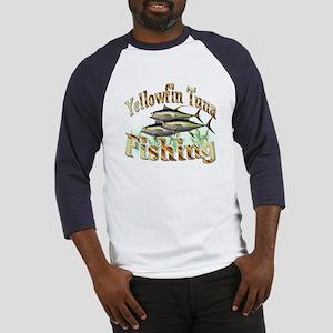 Yellowfin Tuna Fishing Baseball Jersey