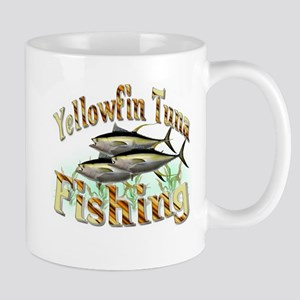 Yellowfin Tuna Fishing Mug