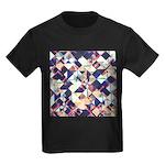 Geometric Grunge Pattern T-Shirt