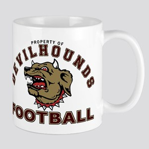 Devil Hounds Football Mug