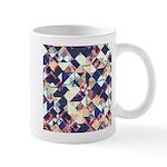 Geometric Grunge Pattern Mugs