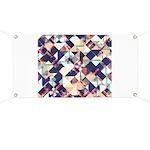 Geometric Grunge Pattern Banner