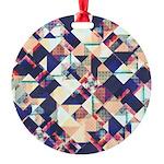 Geometric Grunge Pattern Ornament