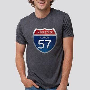 Interstate 57 - Illinois T-Shirt