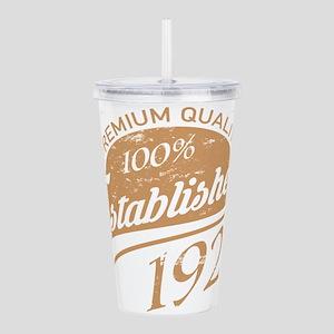 Established 1928 Acrylic Double-wall Tumbler