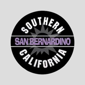 """San Bernardino California 3.5"""" Button"""