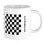 Checkerboard Mugs