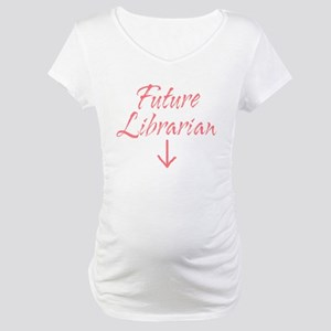 Librarian Maternity T-Shirt