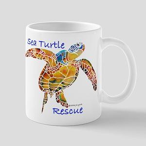 Sea Turtle Rescue 1 Mug