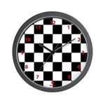 Checkerboard clock Wall Clock