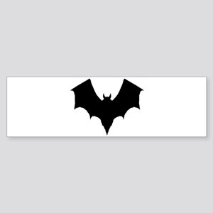 BLACK BAT Bumper Sticker