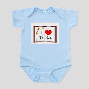 I Love To Read Infant Bodysuit