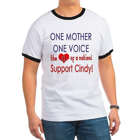 Heart Cindy Sheehan Ringer T