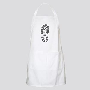 Hiking Boot Print BBQ Apron