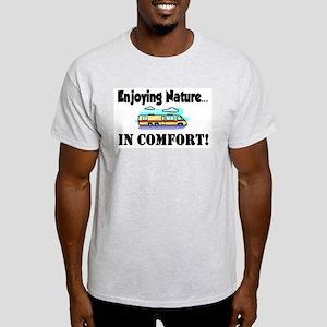 Enjoying Nature In Comfort Light T-Shirt