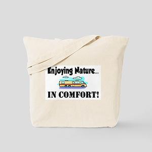 Enjoying Nature In Comfort Tote Bag