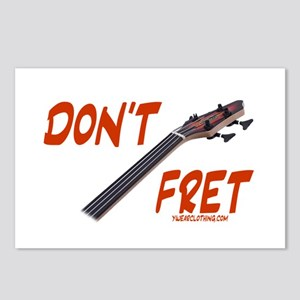 Don't Fret Postcards (Package of 8)