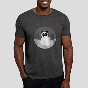 Snow Panda Dark T-Shirt