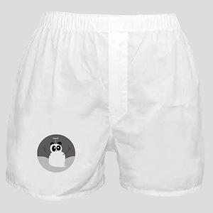 Snow Panda Boxer Shorts