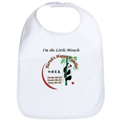 I'm the Little Miracle Bib