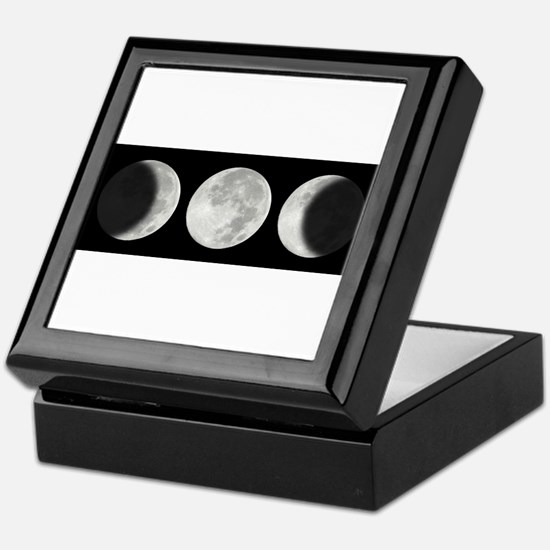 Three Phase Moon Keepsake Box