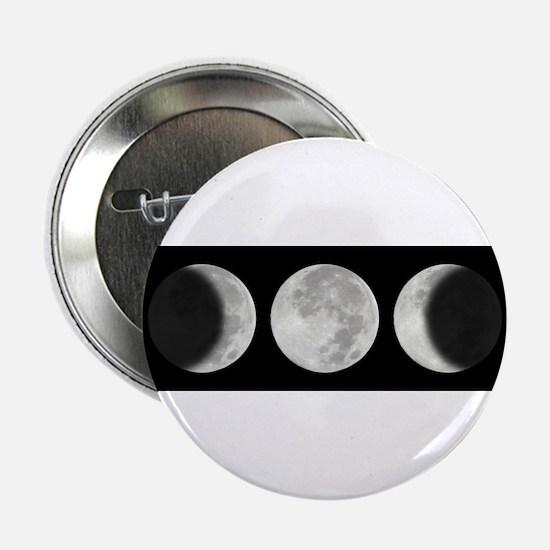 "Three Phase Moon 2.25"" Button"