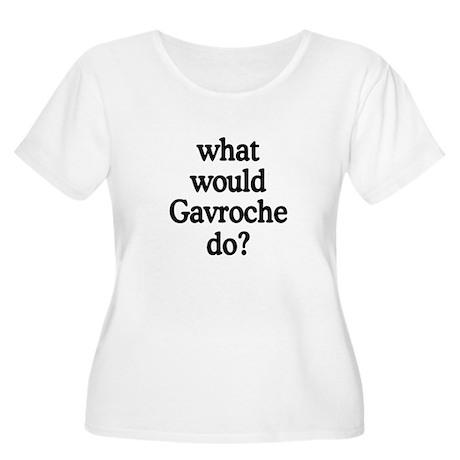 WWGD Women's Plus Size Scoop Neck T-Shirt