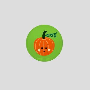 Cute Pumpkins Mini Button