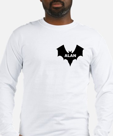 BLACK BAT ALAN Long Sleeve T-Shirt