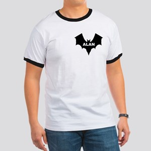 BLACK BAT ALAN Ringer T